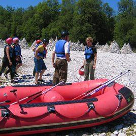 Geogeschichtliche Schlauchboottour auf der Isar