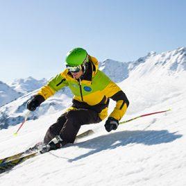 Privatkurs für Skifahrer