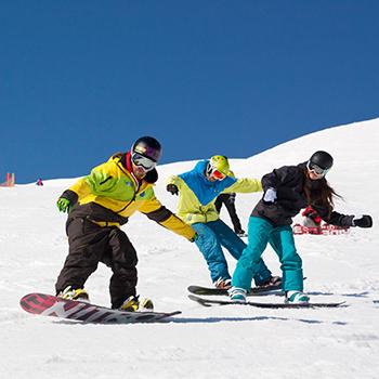 Snowboarden lernen für Erwachsene