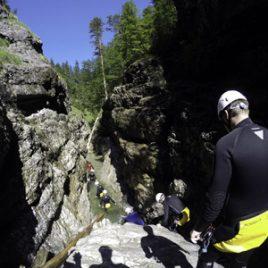 Canyoning in den bayerischen Voralpen